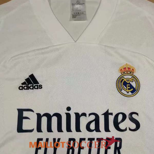 maillot Real madrid domicile 2020 2021