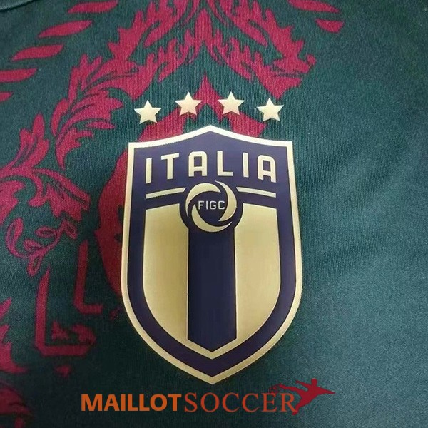 maillot italie entrainement vert 2020