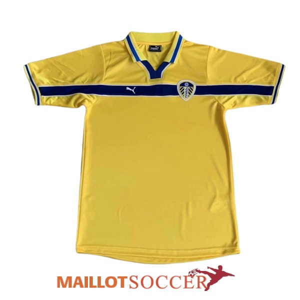 maillot leeds united retro third 1999