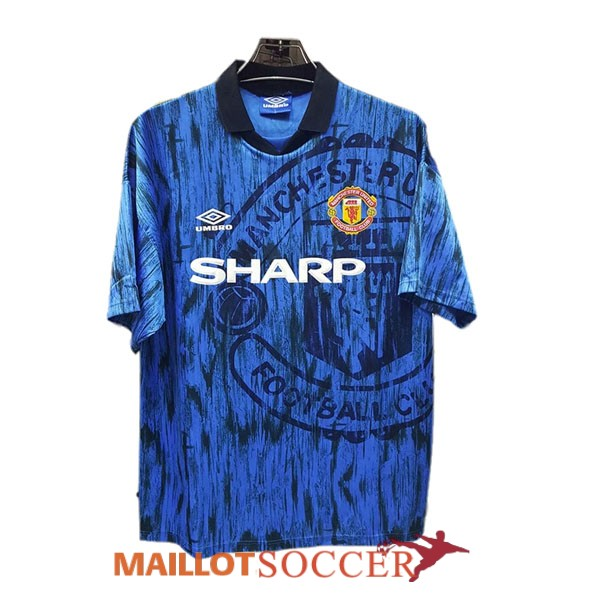 maillot manchester united retro exterieur 1992 1993