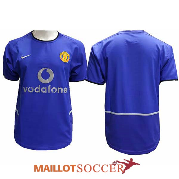maillot manchester united retro exterieur 2002 2004