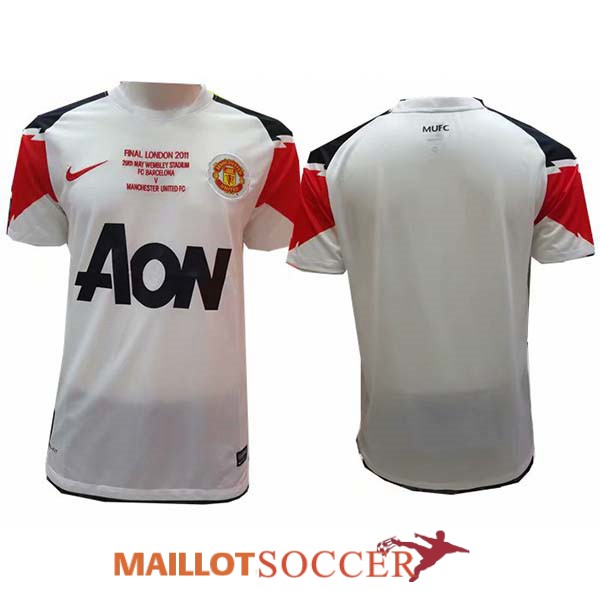 maillot manchester united retro exterieur 2010 2011