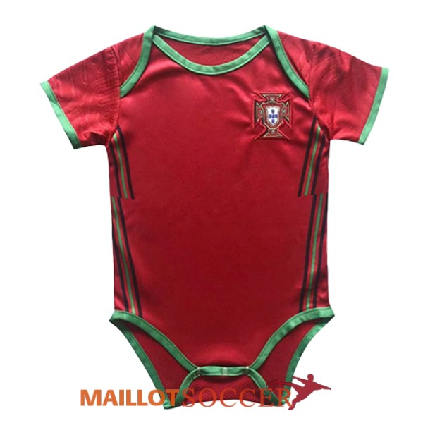 maillot portugal nourrisson rouge 2020 2021