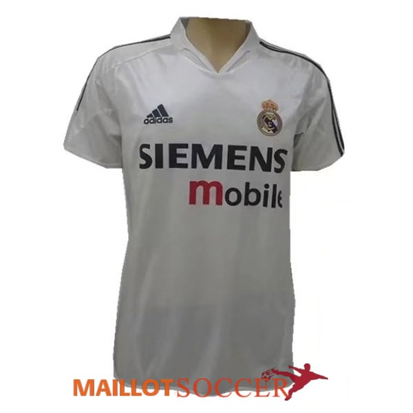 maillot real madrid retro domicile 2004