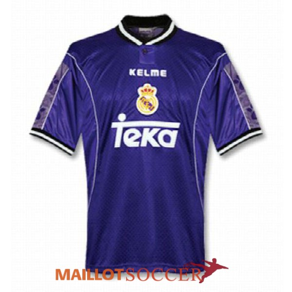 maillot real madrid retro exterieur 1997 1998