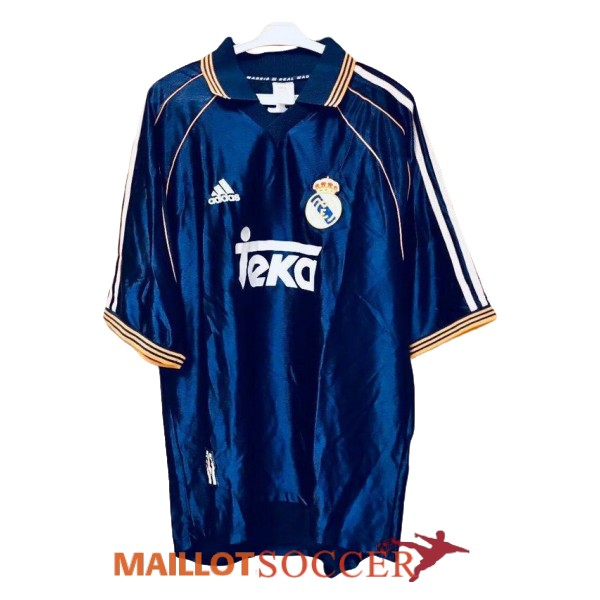 maillot real madrid retro exterieur 1998 1999