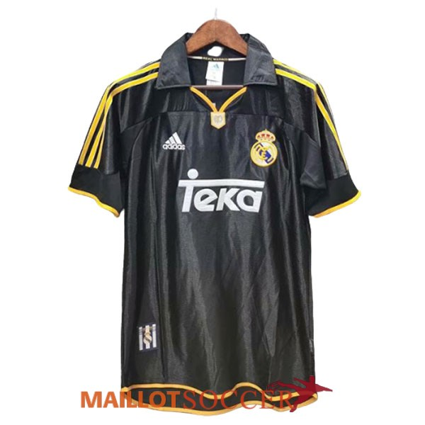 maillot real madrid retro exterieur 1999 2001