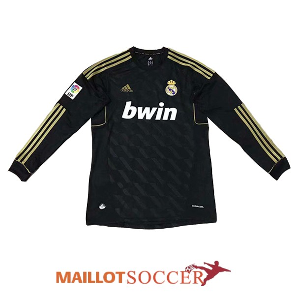 maillot real madrid retro manche longue exterieur 2012